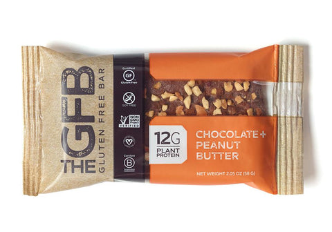 Bar, GFB, Peanut Butter Chocolate - 12ct