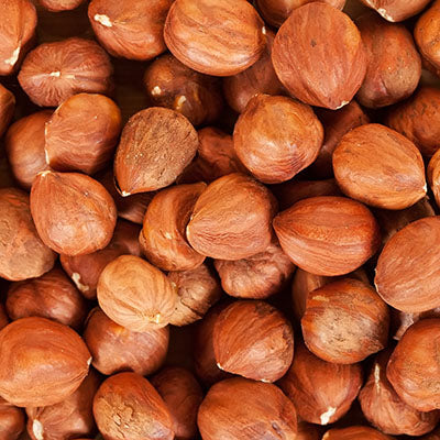 Nuts, Hazelnuts, Raw (Skin on) - 5LB