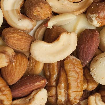 Nuts, Mixed, Roasted & Salted - 5LB or 15/5oz