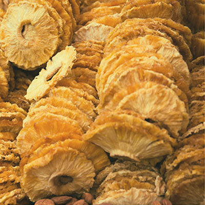 Dried, Pineapple, Rings - 5LB
