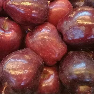 Apple, Red Delicious, Organic - 2LB Bag