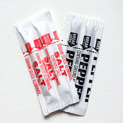 Spice, Salt or Pepper Packets - 3000ct