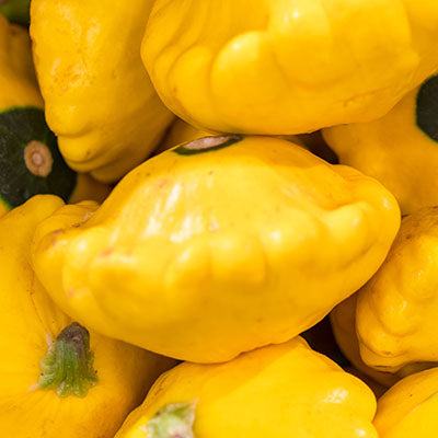 Patty Pan, Yellow - 5LB