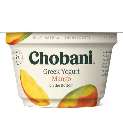 Yogurt, Chobani, Mango Low Fat - 12/5.3oz