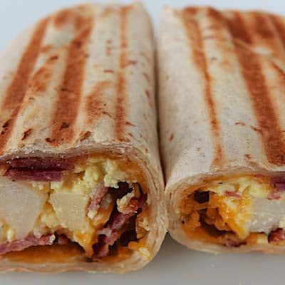 Grab & Go, Bacon, Egg & Cheese Breakfast Burrito - each