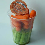 Grab & Go Snack, Carrot & Celery w/Peanut Butter, 7oz - each