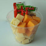 Grab & Go Snack, Cheese & Crackers, 5oz - each