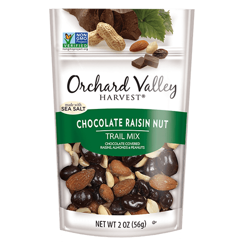 Trail Mix, Chocolate/Nut/Raisin, Orchard Valley Harvest - 14/2oz
