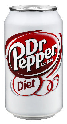 Soda, Diet Dr. Pepper - 24/12oz cans