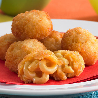 Appetizer, Macaroni & Cheese Bites 100ct CS6
