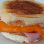 Grab & Go, Ham & Egg Breakfast Sandwich - each