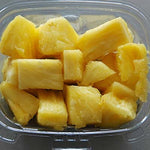Grab & Go Snack, Cut Pineapple Cup, 8oz - each