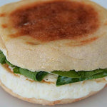 Grab & Go, Spinach, Feta, Egg & Cheese Breakfast Sandwich - each