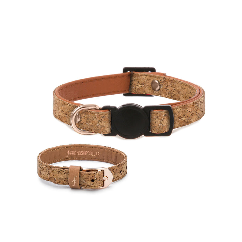 A Vintage Pairing - Cat Collar