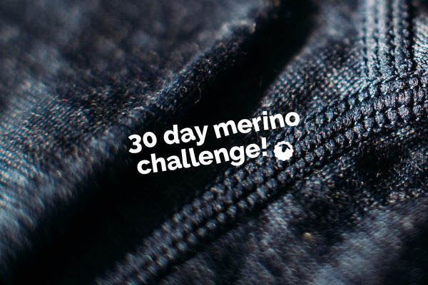 30 Day Merino Challenge: Ron's Journey