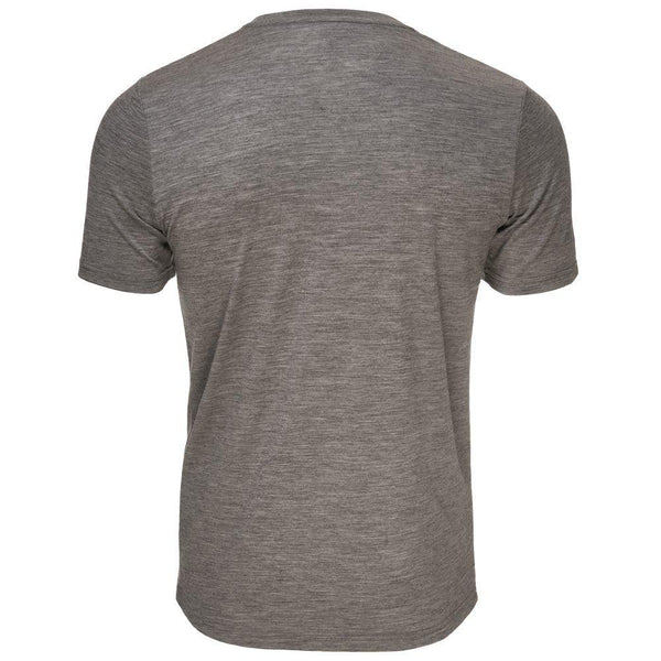 Isobaa Mens Merino 150 Pocket Tee (Charcoal)