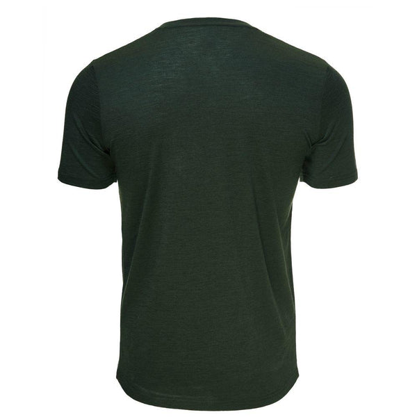 Isobaa Mens Merino 150 Pocket Tee (Forest)
