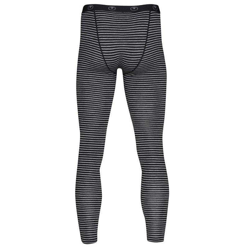 Isobaa Mens Merino 200 Tights (Black/Charcoal)