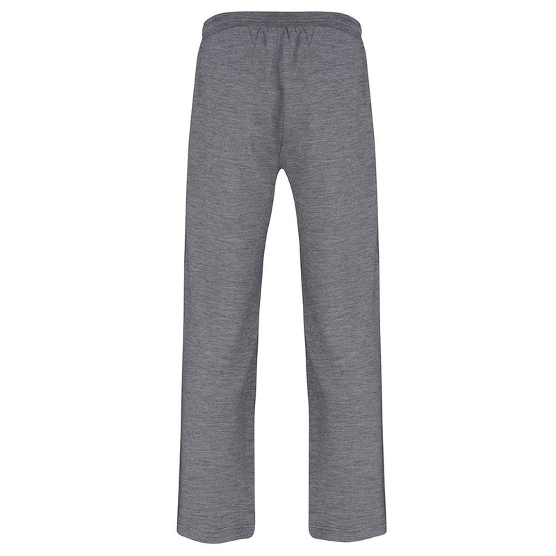 Isobaa Mens Merino 260 Lounge Loose Joggers (Charcoal/Orange)
