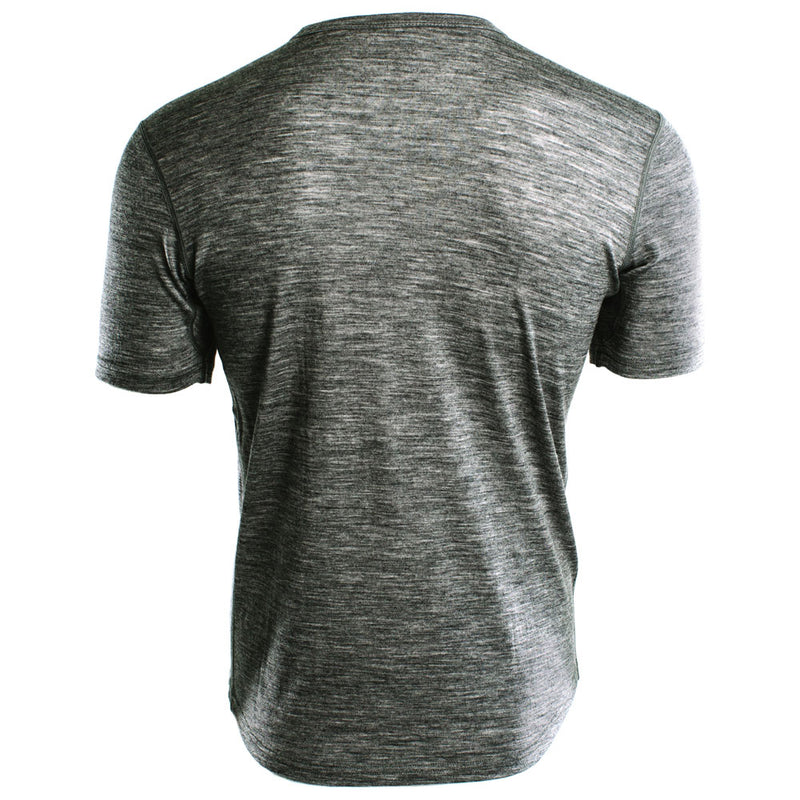 Mens Merino 150 Short Sleeve Crew (Charcoal)
