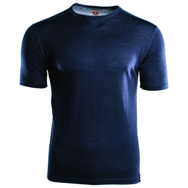 Mens Merino 150 Short Sleeve Crew (Navy)