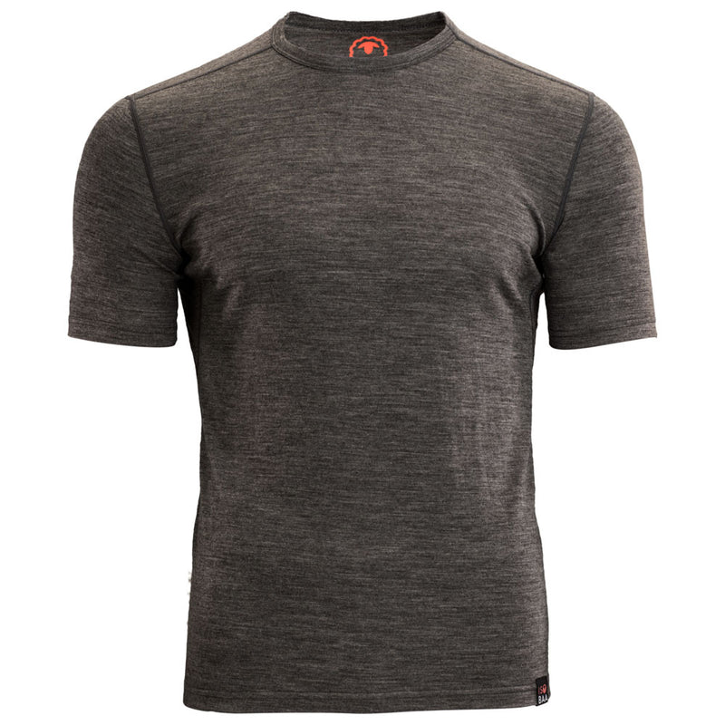 Mens Merino 150 Short Sleeve Crew (Smoke)