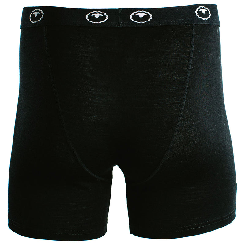 Mens Merino 180 Boxers (Black)