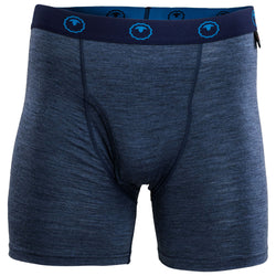 Mens Merino 180 Boxers (Denim)