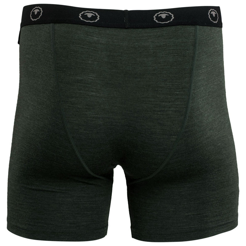 Mens Merino 180 Boxers (Forest)