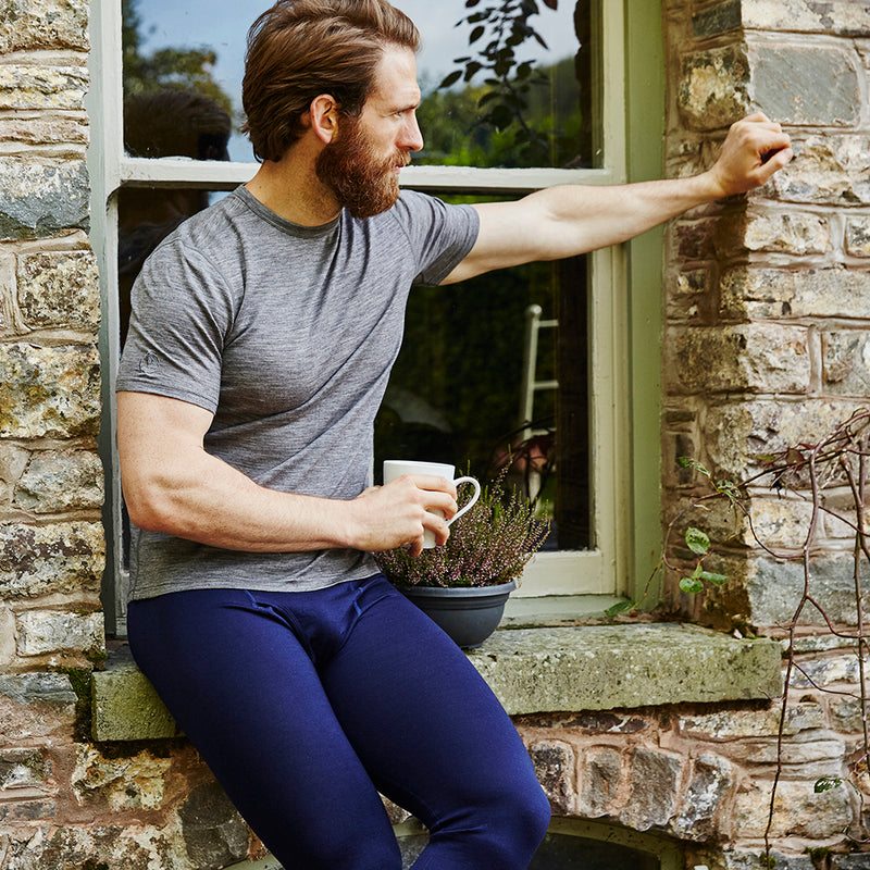 Mens Merino 200 Tights (Navy)