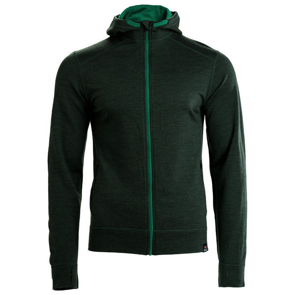 Mens Merino 260 Casual Hoodie (Forest)