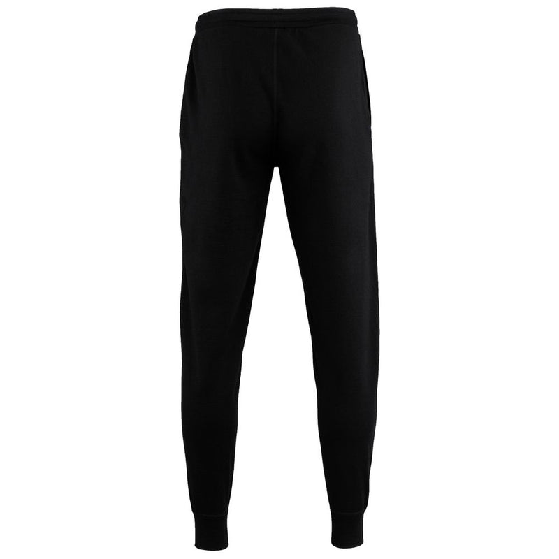 Mens Merino 260 Lounge Cuffed Joggers (Black/Smoke)