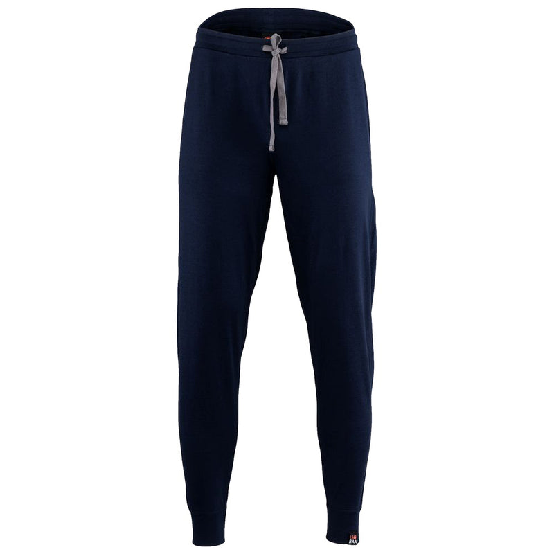 Mens Merino 260 Lounge Cuffed Joggers (Navy/Smoke)