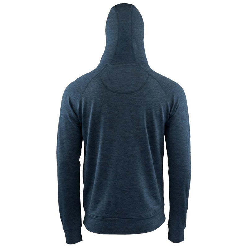 Mens Merino 260 Lounge Hoodie (Denim/Navy)