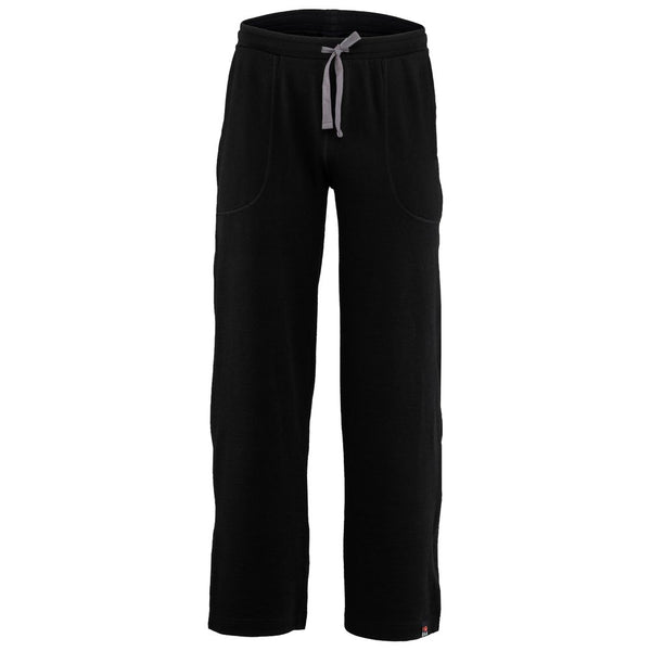 Mens Merino 260 Lounge Loose Joggers (Black/Smoke)