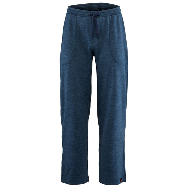 Mens Merino 260 Lounge Loose Joggers (Denim/Navy)