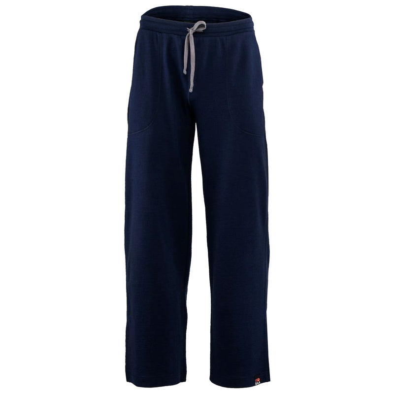 Mens Merino 260 Lounge Loose Joggers (Navy/Smoke)