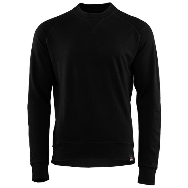Mens Merino 260 Lounge Sweatshirt (Black)