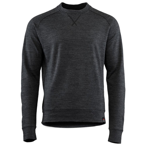 Mens Merino 260 Lounge Sweatshirt (Smoke)