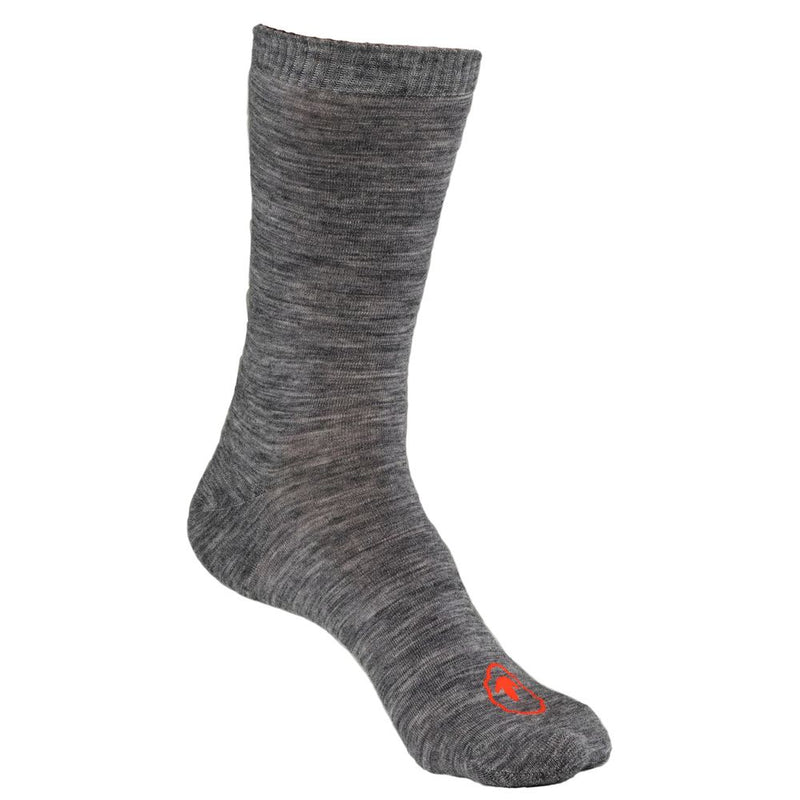 Merino Blend Everyday Socks (3 Pack - Charcoal)