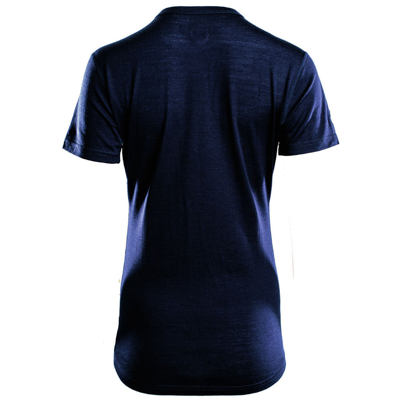 Womens Merino 150 Short Sleeve Crew (Navy)