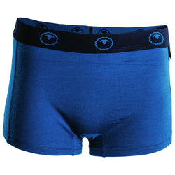 Womens Merino 180 Hipster Shorts (Blue)