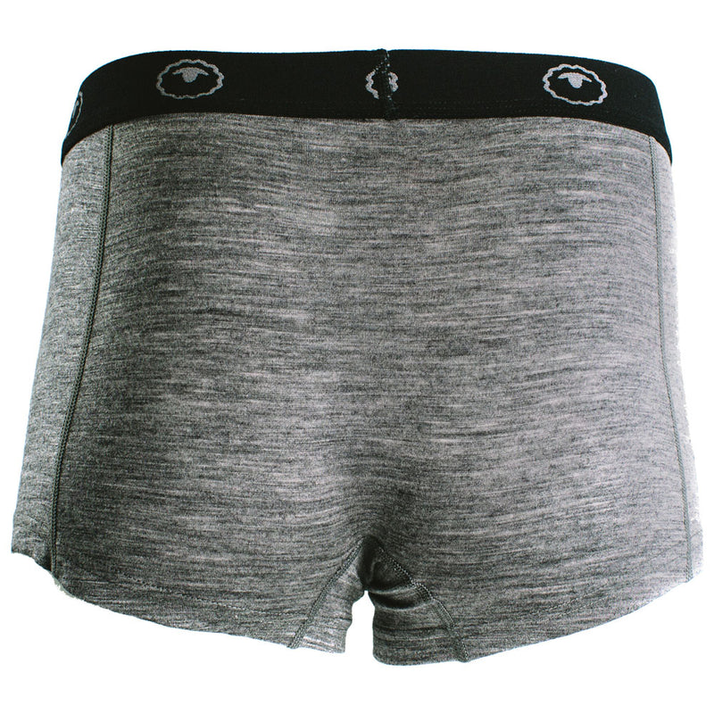 Womens Merino 180 Hipster Shorts (Charcoal)