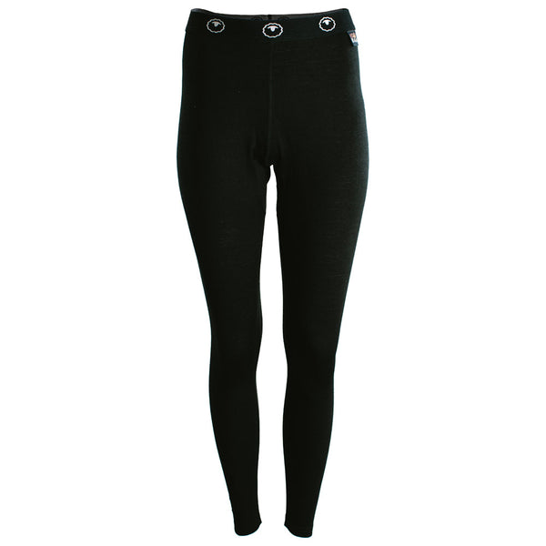Womens Merino 200 Tights (Black)