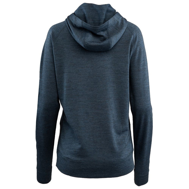 Womens Merino 260 Lounge Hoodie (Denim/Navy)