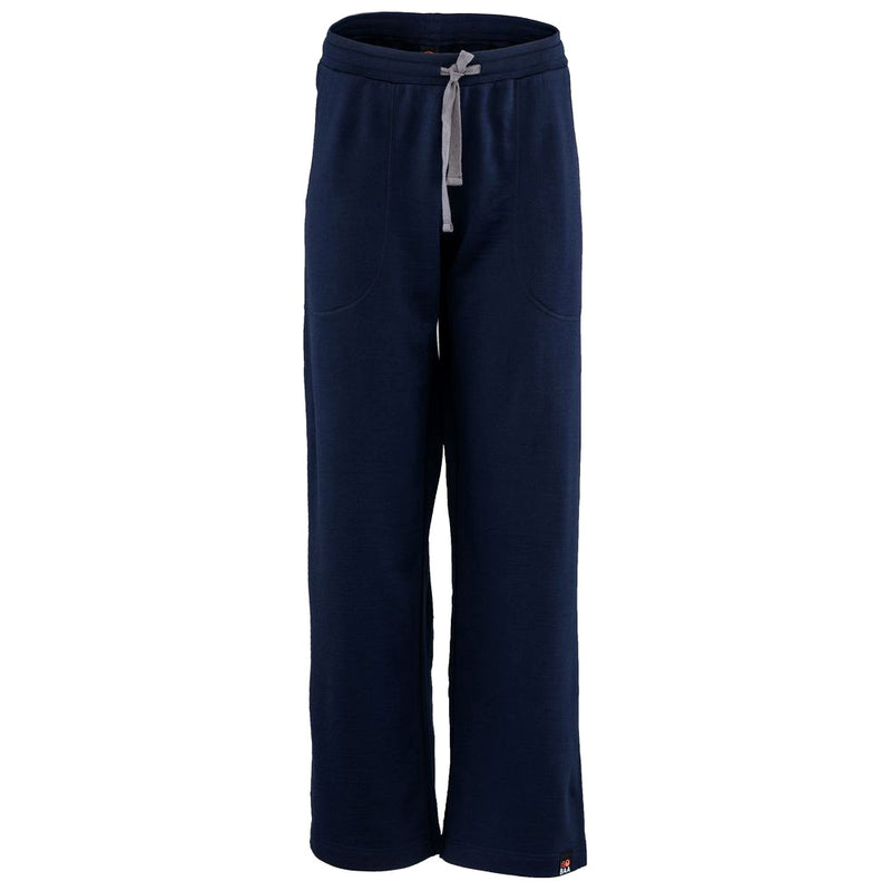 Womens Merino 260 Lounge Loose Joggers (Navy/Smoke)
