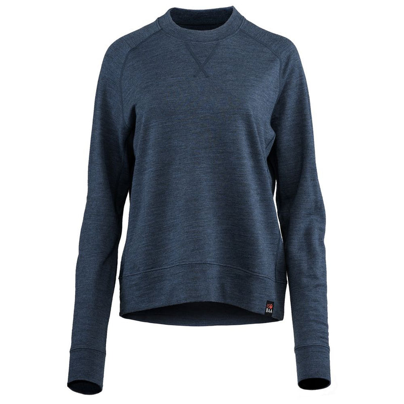 Womens Merino 260 Lounge Sweatshirt (Denim)