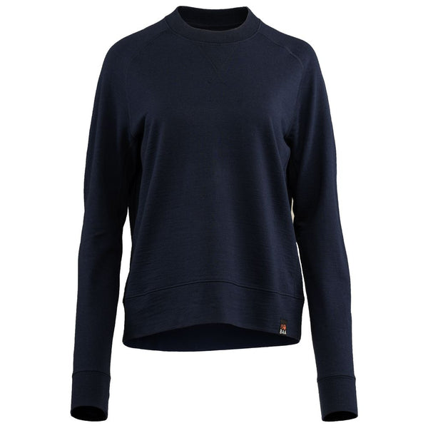 Womens Merino 260 Lounge Sweatshirt (Navy)