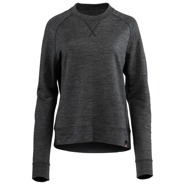 Womens Merino 260 Lounge Sweatshirt (Smoke)