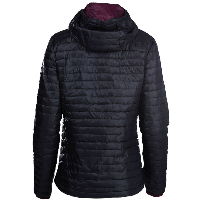Womens Merino Wool Insulated Jacket (Black/Wine)